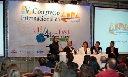 V Congresso Internacional da ABDA – Fórum: TDAH, Legislação e Inclusão