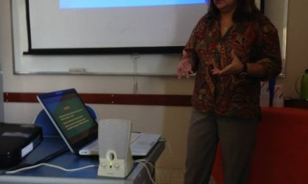 Palestra sobre TDAH no Projeto Grael