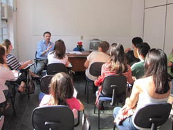 Reunião Mensal para Pais e Portadores Adultos em São Paulo