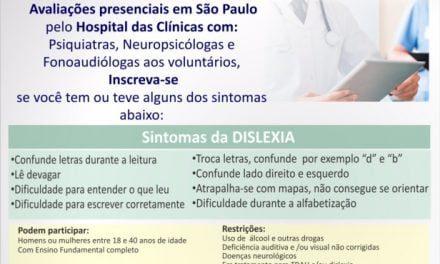 Pesquisa de Dislexia em Adultos