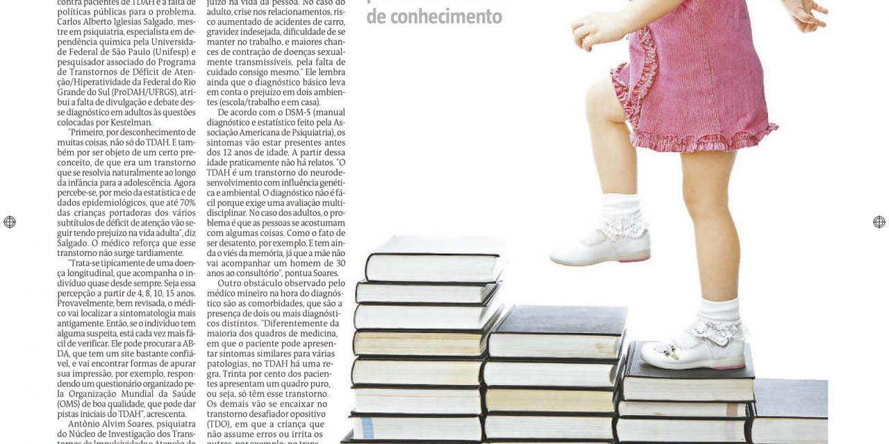 O Estado de Minas – TDAH na Vida Adulta