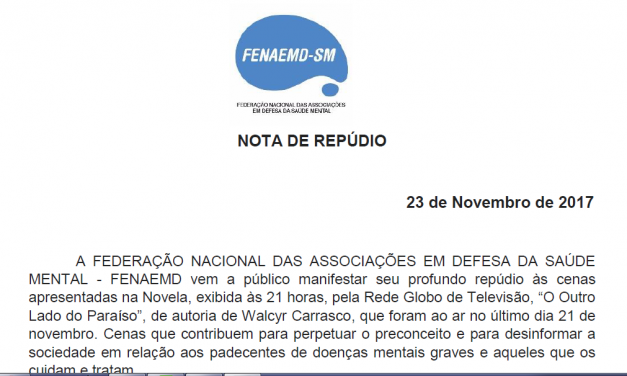 Federação Nacional das Associações em defesa da Saúde Mental